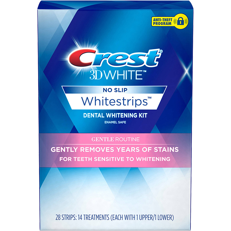 Crest 3D White Gentle Routine - Giải Pháp Tẩy Trắng Răng Crest