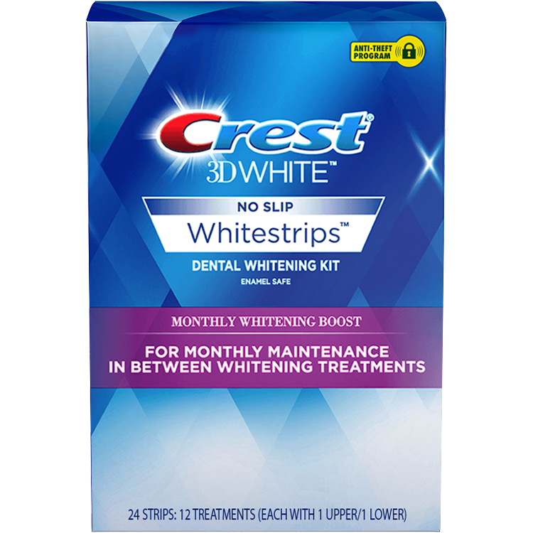 Crest 3D White Monthly Whitening Boost - Giải Pháp Tẩy Trắng Răng Crest